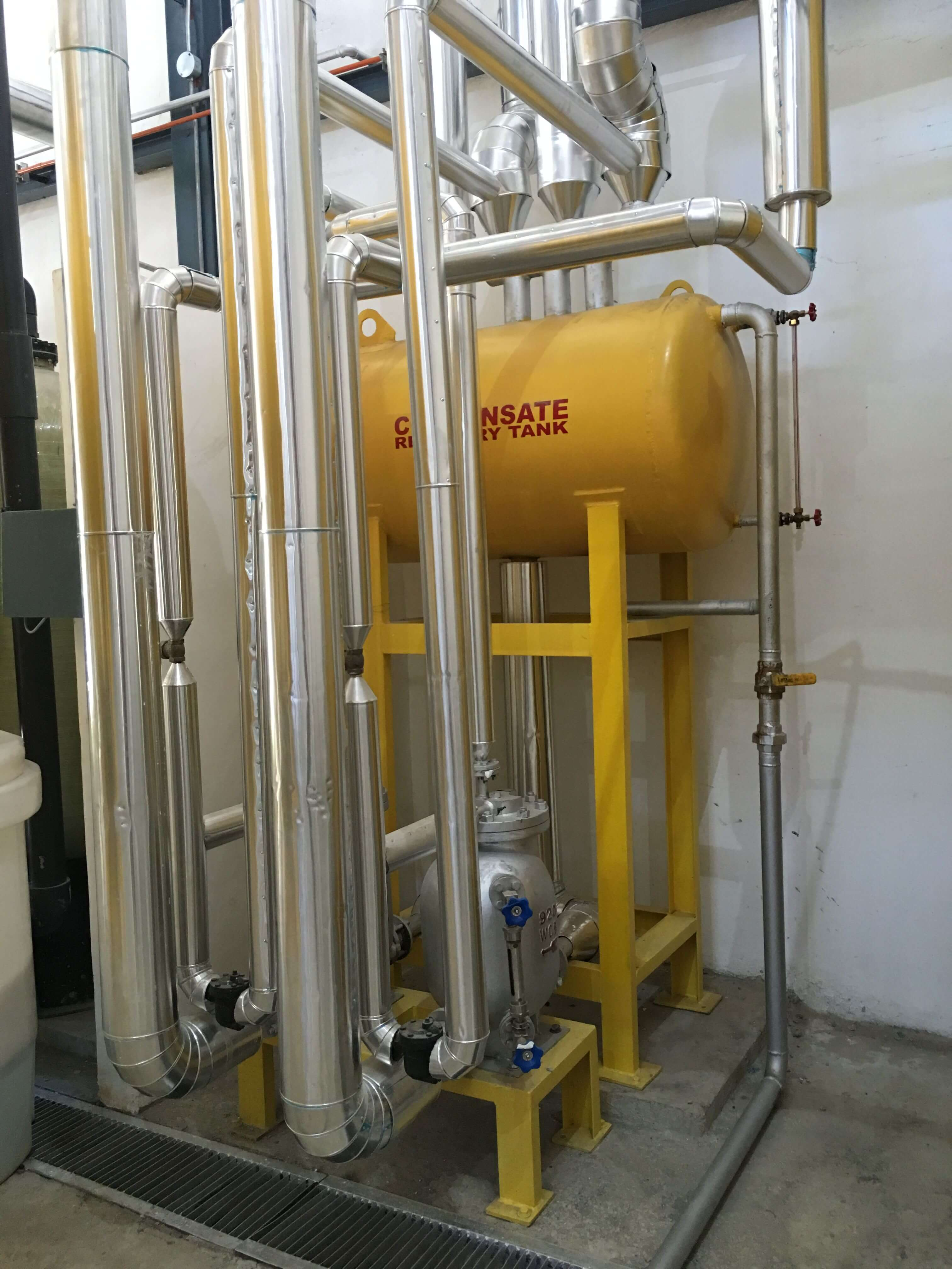 Condensate Recovery Pumping System Steam Operated Project