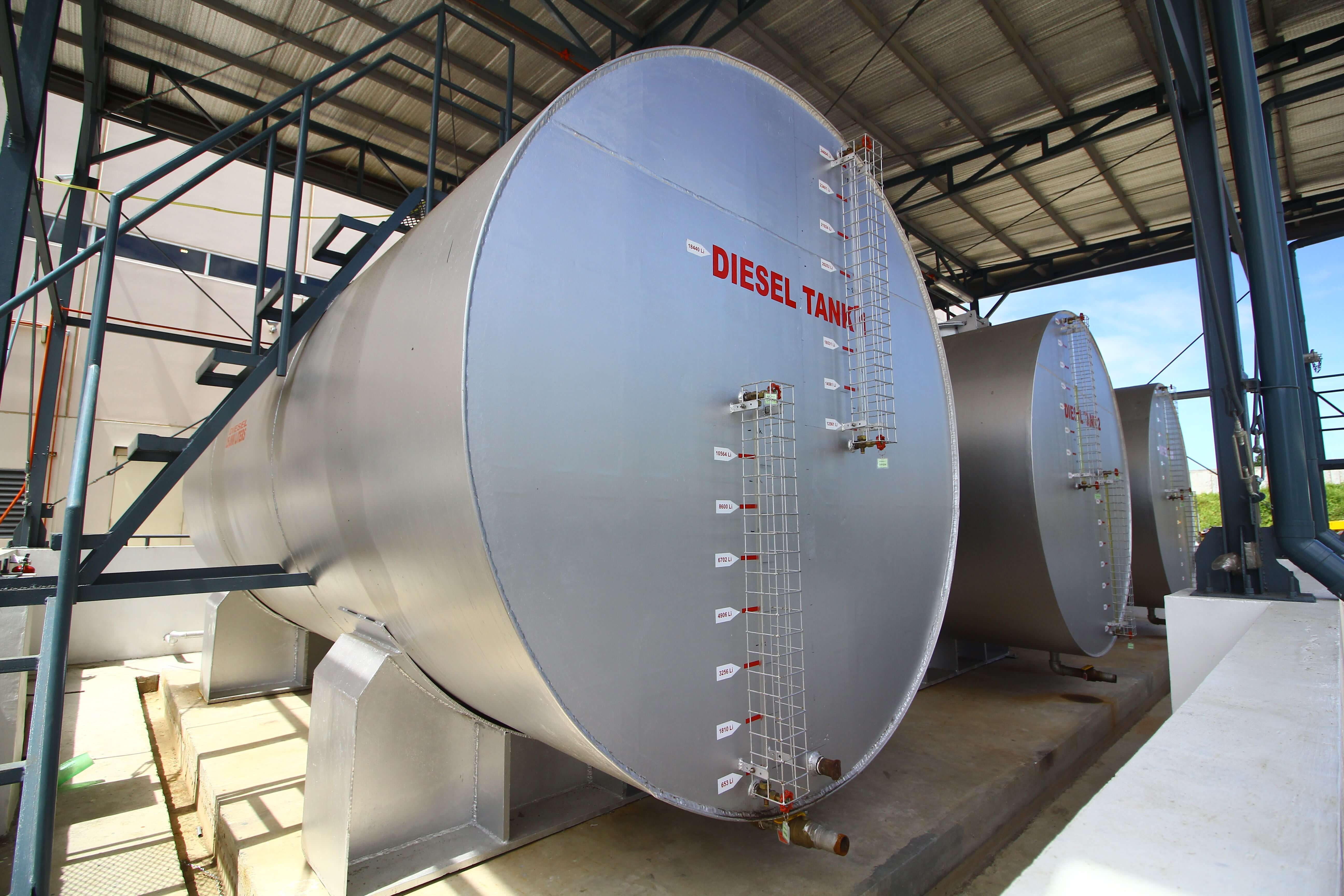 Diesel Storage Tank 3x25000L Project