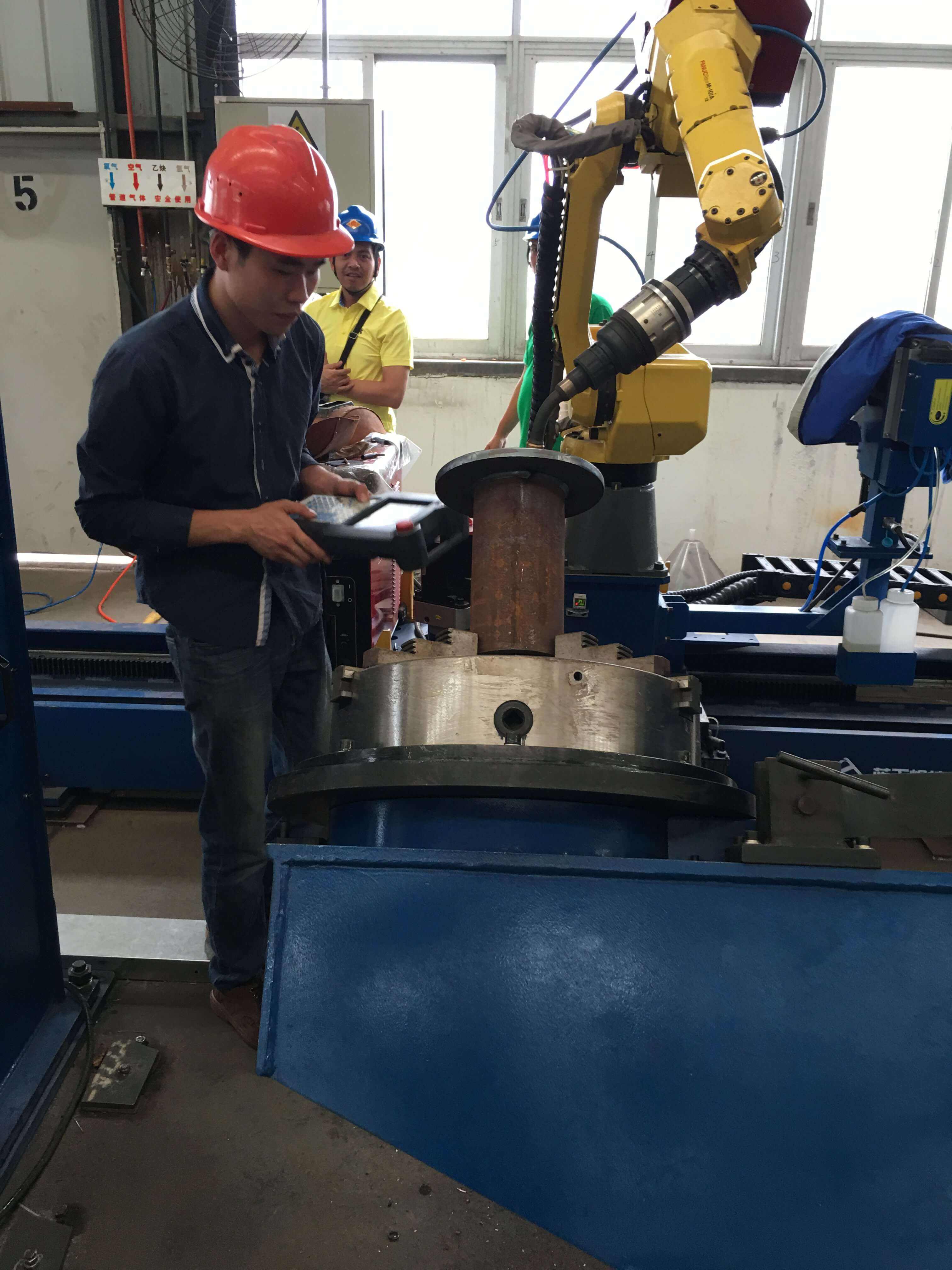 Robotic Welding Procedure Manufacturing